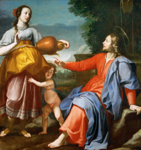 Christ And The Samaritan Woman At The Well.