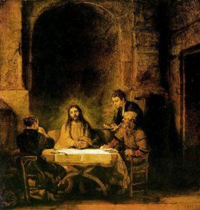 Rembrandt's Supper at Emmaus