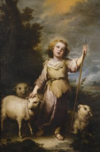 The Young Christ as the Good Shepherd.