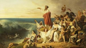 The Children of Israel Crossing the Red Sea