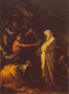 Apparition of the spirit of Samuel to Saul