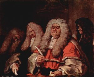 The Bench, by Hogarth
