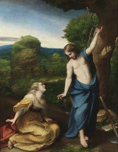 """Noli me tangere"" (""Do not hold on to me,"" John 20:17)"