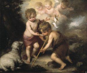 The Holy Children, John and Jesus
